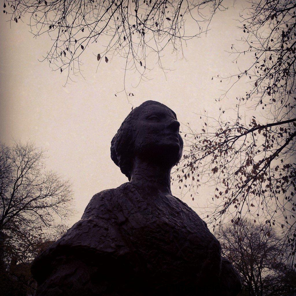 Une statue à Amsterdam