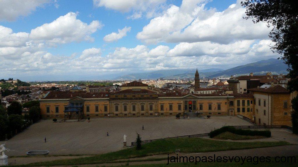 Vue sur Florence depuis Boboli