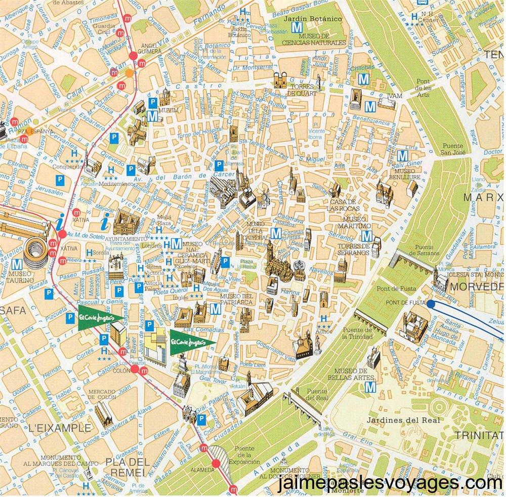 Info carte de valencia espagne voyages cartes - Piscine valencia espagne ...
